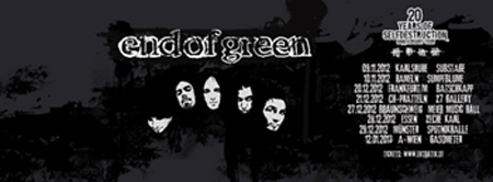 END OF GREEN &#8211; Interview