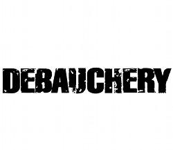 Debauchery-Logo-Metal-Merch-Metal-Merchandise-Band-Merch-Band-Merchandise-Metal-Heckkleber-Band-Heckkleber