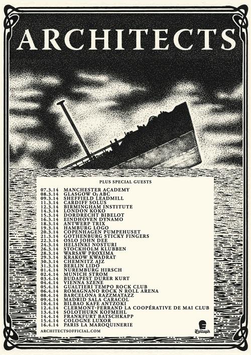 Architects Artwork - UK & Euro Full tour dates