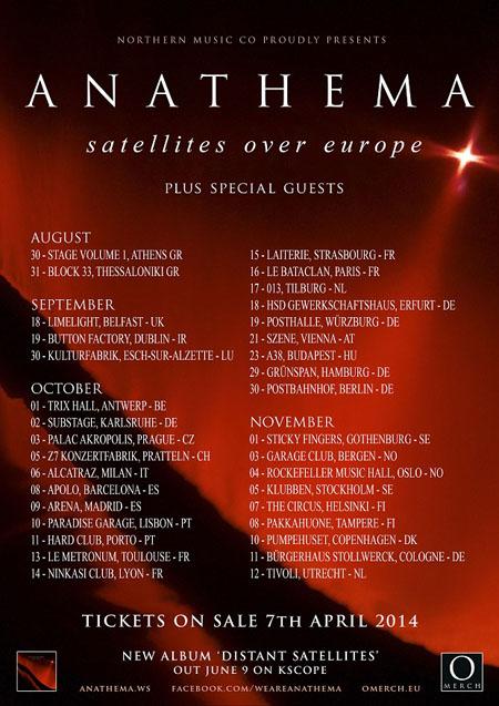 Anathema Tour 2014