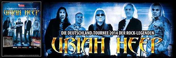 URIAH HEEP TOUR 2014