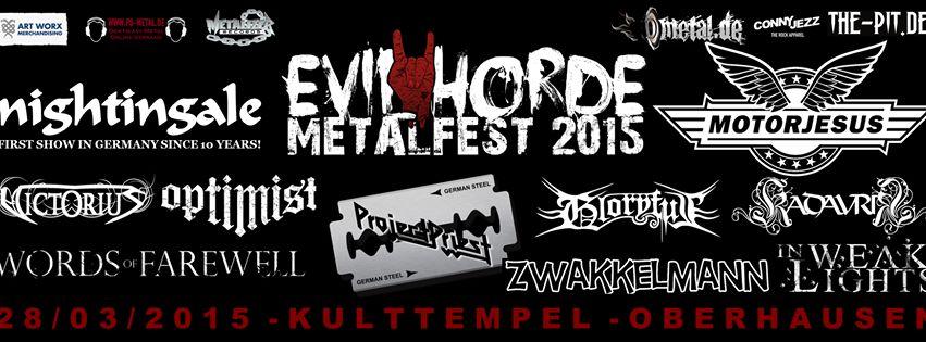 Evil HOrde MEtalfest XL
