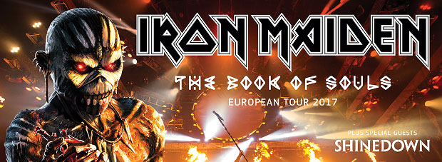 IRON MAIDEN TOUR 2016