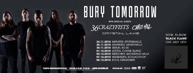 Bury Tomorrow TOUR 2018